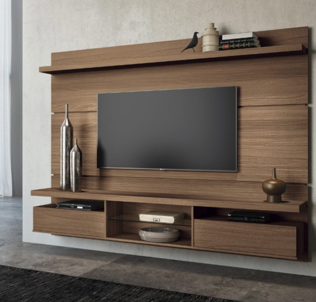 Painel para TV Livin 2.2m 6251 Macchiato HB Móveis