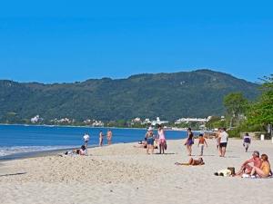 Praia de Canasvieiras.