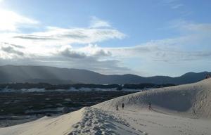 Praia da Joaquina.
