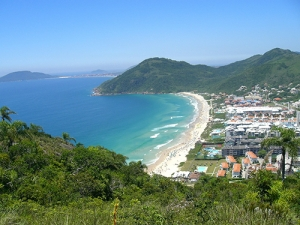 Praia de Jurerê.