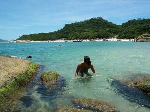 Praia do Campeche.