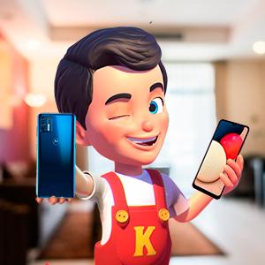 Kerito com smartphones